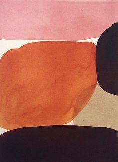 Lourdes Sanchez, untitled ink on silk Painting Inspiration, Color Inspiration, Modernisme, Contemporary Abstract Art, Color Shapes, Pattern Illustration, Color Stories, Art History, Design Art
