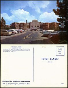 Middletown-Hospital-Middletown-Ohio-OH-1960s-classic-cars