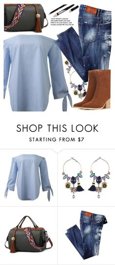 """Untitled #3377"" by ansev ❤ liked on Polyvore featuring zaful"