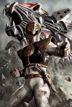 White Ranger - by Carlos Dattoli<br>giclee on canvas