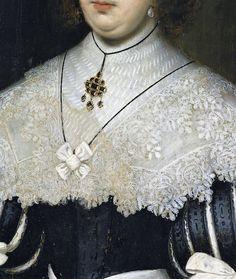 Portrait of a Lady by Cornelis Janssens van Ceulen