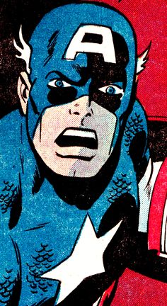 Captain America by Sal Buscema