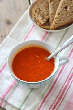 Filmpje: gezonde paprika-tomatensoep - Lekker en Simpel