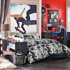 SKATE-HOME (Spain): Diseños frescos de habitaciones para los chicos skaters