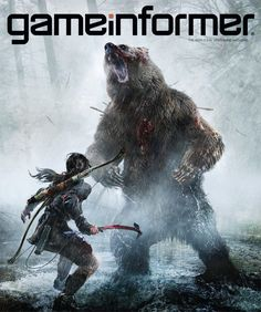 March Cover Revealed – Rise Of The Tomb Raider - News - www.GameInformer.com