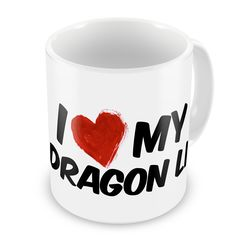 Coffee Mug I Love my Dragon Li Cat from China - Neonblond * To view further, visit now : Cat mug