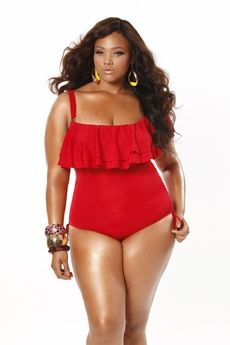Plus Size Fashion Find: Colorblock Lace Top A-line Dress From Pink ...