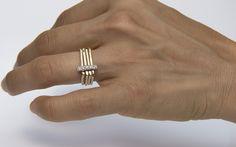 Diamonds pave engagement ring