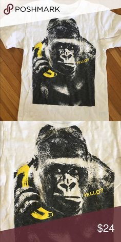 New J Crew Crewcuts boys t shirt 10 Yrs New (without tags) size 10 boys gorilla crewcuts t shirt. Perfect condition! j Crew Shirts & Tops Tees - Short Sleeve
