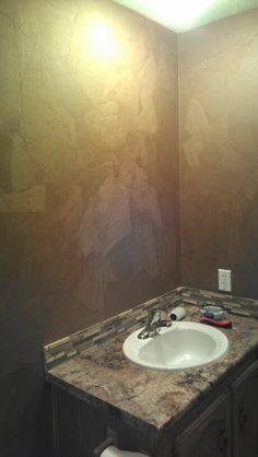 Brown Paper Bag wall Paper Bag Walls, Paper Bags, Faux Painting, Painting Tips, Wall Finishes, Brown Paper, Diy Home Improvement, Beautiful Wall, To My Daughter