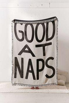 Good At Naps Throw