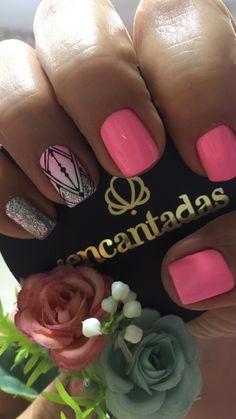 Skin Makeup, Pink Nails, Hair And Nails, Nail Designs, Nail Polish, Nail Art, Designed Nails, Polish Nails, Toe Nail Art
