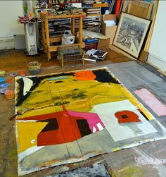 Karin Batten's studio