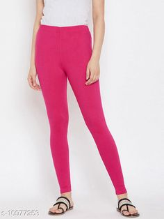 Checkout this latest Leggings Product Name: *Sakhi Shine Ankle Length Cotton Legging* Fabric: Cotton Lycra Pattern: Solid Multipack: 1 Sizes:  38, 40 Country of Origin: India Easy Returns Available In Case Of Any Issue   Catalog Rating: ★4 (270)  Catalog Name: Fashionable Feminine Women Leggings CatalogID_2033476 C79-SC1035 Code: 382-10977253-936