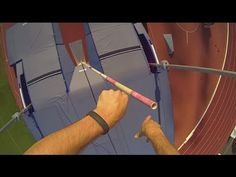 ▶ Renaud Lavillenie enjoyed jump with Nilox cam on Golden Spike in Ostrava - YouTube