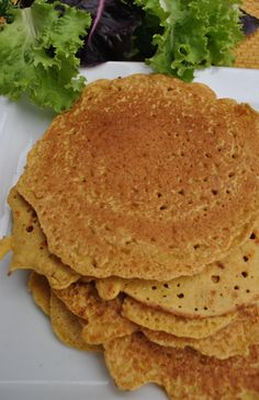 Chickpea Flour Tortillas - A delicious and versatile grain free alternative to tortillas
