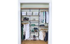 Cypress Live freedomRail Closets Closet image from organizedliving.com #2 #organizedliving and #springcloset