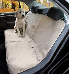 Dog Car Seat Cover Pet Waterproof Bench Seat Puppy Clean Dry Travel Protection