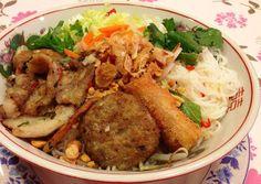 ベトナム料理 アン - 料理写真:ブンチャー(冷やしビーフン)