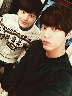 Sungjae and Minhyuk