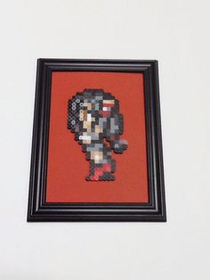 Tifa Final Fantasy 7 Framed Art by JustALevel on Etsy