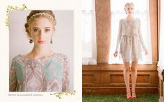 Adorable pastels and an airy feel