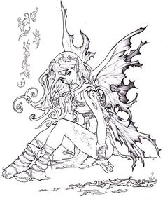 Autumn fairy by ~Pallat on deviantART