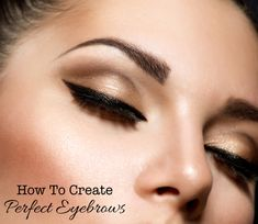From tweezing to defining, if you want perfect eyebrows, this easy-to-follow beauty tutorial shows how to create sculpted brows that instantly make you look gorgeous. #eyebrows #makeup #beauty