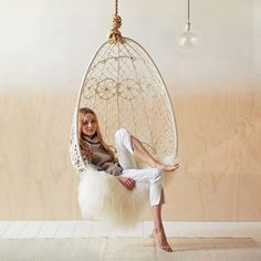 """Swing easy with this beautiful gypsy hanging chair from @byronbayhangingchairs. Featured in our latest issue #reallivingloves"" Photo taken by @reallivingmag on Instagram, pinned via the InstaPin iOS App! http://www.instapinapp.com (05/22/2015)"