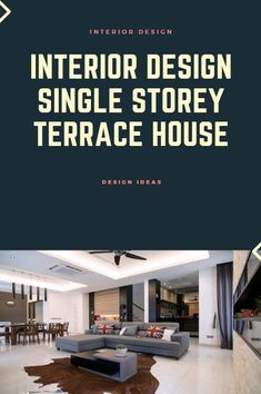 Interior Design Single Storey Terrace House Malaysia >> >> >> Hay the design, Look at some dec. Best Interior, Home Interior Design, Interiores Design, Terrace, Design Ideas, Decor Ideas, House Design, Decorating, Places