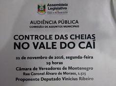 INFORMATIVO GERAL: AUDIÊNCIA PÚBLICA DA ASSEMBLEIA LEGISLATIVA NA CÂM...