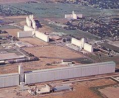 Grain elevators, Hutchinson, Kansas