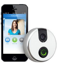 Amazon.com: SkyBell Wi-Fi Video Doorbell with Motion Sensor - Version 2.0 (BRONZE): Home Improvement