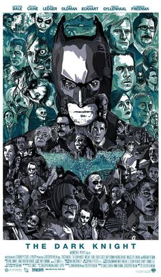 The Dark Knight by M