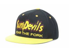 Arizona State Sun Devils Top of the World NCAA Double Vision Snapback Cap Hats