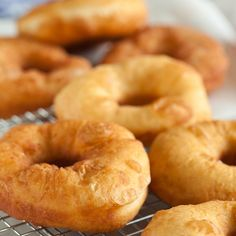This recipe makes a delicious Simple Donut that you can eat just as it is.. Simple Donuts Recipe from Grandmothers Kitchen. Follow us on Pinterest.