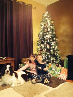 Me my dog Boomer and my brother on Christmas in 2014