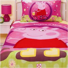 Peppa Pig Patchwork Quilt Cover Set Target Australia Kyleigh S Bedroom Pinterest And