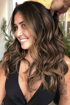 hummm. when i see all these hair color ideas for brunettes it always makes me jealous i wish i could do something like that I absolutely love this hair color ideas for brunettes so pretty! Perfect!!!!!