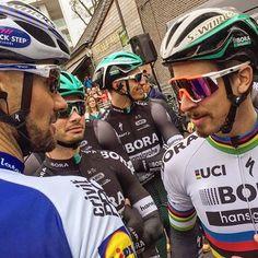 Tom Boonen, Peter Sagan, Rudi Selig Scheldeprijs 2017