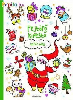 Rénszarvasok agancs nélkül, hóemberek répa helyett gallyal az orruk helyén?  Keress meg minden apró részletet, és színezd ki a vidám, ünnepi képeket!  A karácsonyi foglalkoztatófüzetben manók, szépen díszített karácsonyfák, ajándékok, kedves állatok és mókás manók rejtőznek a gyönyörű színezőkön.  Találd meg mindet! Minion, Snoopy, Comics, Fictional Characters, Ballon, Art, Noel, Livres, Comic Book