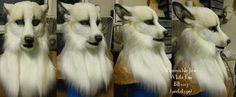 White Fox Head by ~Artsquish on deviantART