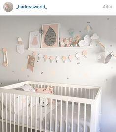 Wolken Kinderzimmer Deko Mit Ikea Bilderleisten Serie