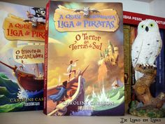 A quase honrosa liga de piratas: O TERROR DAS TERRAS DO SUL, sou encantada por essa série.