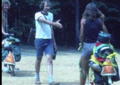 Whoa. Historic home video footage from #bikecentennial. Dan Burden welcoming riders completing their cross country ride!  #biketouring #biketravel #bikepacking #adventurebybike by pathlesspedaled