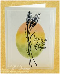 images inkadinkado meadow stamp | Your in my Prayers