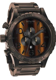 Nixon 51-30 Chrono Tigerseye Watch - The Coolest Watches from Watchism.com