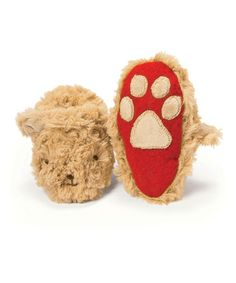 Take a look at this Caramel Bao Bao Bear Slipper by Bunnies by the Bay on #zulily today!