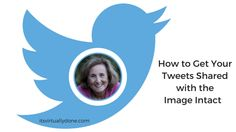 How to Get Your Tweets on Twitter Shared with the Image Intact. I suggest that you re-share your tweets with your sharing groups (such as the Social Buzz Club) as well as on your own Twitter account. This tells you how to grab the pic.twitter link.