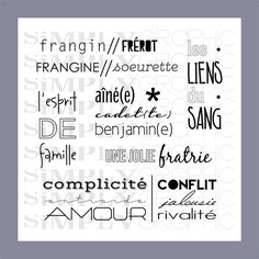 planche frangin-frangine - Simply Graphic